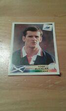 N°38 TOSH McKINLAY # SCOTLAND PANINI FRANCE 98 WORLD CUP ORIGINAL 1998