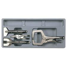 Teng TTPSPG 4 piece Locking Welding Pliers Set In Toolbox Module Tray