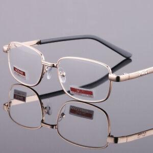 Reading Glasses Plastic / Metal Frame Highly Presbyopia Lens +4.5 +5.0 +5.5 +6.0