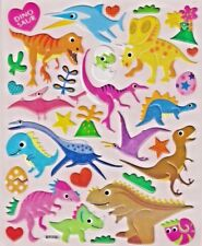 Good Dinosaur 3D stickers A4 size craft card project