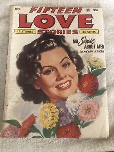 Fifteen Love Stories / Pulp Magazine / September  1953