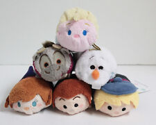 "Authentic USA Disney Store Plush Tsum Tsum 3.5"" Mini ""FROZEN"" Complete Set of 6"