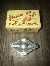 Vintage Blade-Aid Leather Swivel Knife Sharpener Tool in Original Box NOS