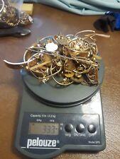 Antique  10 k, 12 k, 14 k Gold Filled Jewelry & Eyeglasses Scrap Lot 333 grams