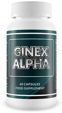 Ginex Alpha - Eliminate Man Boobs Fast! (Gynecomastia) TREATMENT! 60capsules