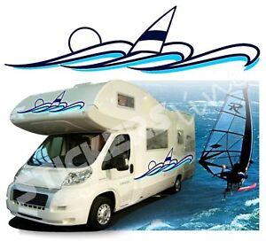 Adhesivos Para Camper Set Camper Surfing Mal CM 70/85/100