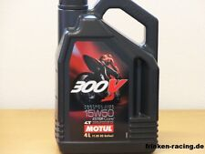 12,48€/l Motul 300 V 4T Road Racing SAE 15W-50 4 L