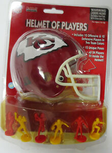 KANSAS CITY CHIEFS NFL RIDDELL HELMET OF PLAYERS NEW IN PACKAGE MAHOMES II