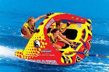 Sportsstuff Poparazzi Towable Inflatable Water Ski Ringo Donut Tube Steer It !!