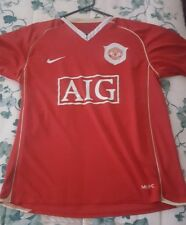 Ronaldo Manchester United Home Jersey Size M