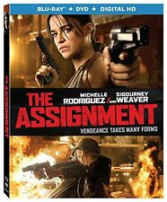 THE ASSIGNMENT BLU-RAY DVD DIGITAL HD WALTER HILL MICHELLE RODRIGUEZ