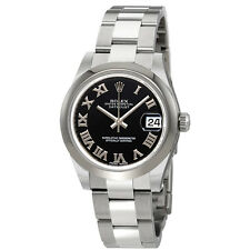 Rolex Datejust Lady 31 Black Dial Stainless Steel Oyster Bracelet Automatic