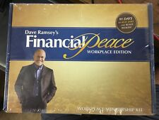 Dave Ramsey's Financial Peace University Workplace Membership Kits -New In box!