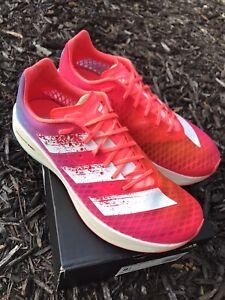 Adidas Adizero Adios PRO, size 8.5 mens, 17 Miles(used), With Box