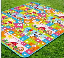 BABY Toddler Playpen Mat Play Mat in/out doors Large 1.8X2M With Free carry bag