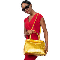 by Vittoria Pacini Details about  / Italian metallic black calf leather clutch handbag--nice!