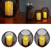 Laterne Orientalisches Licht Alladin Kerzehalter Teelicht Windlichter Rotglas