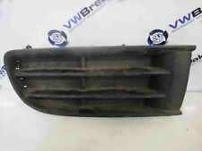 Volkswagen Polo 2003-2006 9N Drivers OSF Front Bumper Insert Grill Plastic