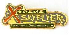 Amusement Park Paramount's Great America Xtreme Skyflyer Hang Glide Ride Pin