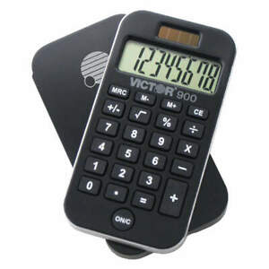 Victor 900 Calculator, 8 Display Digits