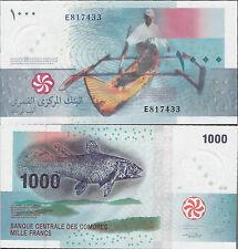 Comoros (Comores) 2005 - 1000 francs - Pick 16 UNC