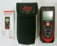 Leica Disto D2 Laser Distance Measure with Bluetooth Swiss Technology w/ Case