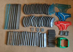 TOMY Trackmaster Thomas And Friends Large Bundle of Grey Road Track  87 Pieces