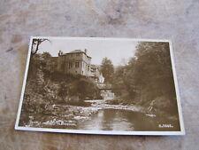 Real photographic postcard - Castle Hotel - Glendevon  - Clackmannanshire