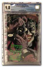 BATMAN the KILLING JOKE CGC 9.8 Alan Moore/Brian Bolland  1st print  HIGH GRADE!