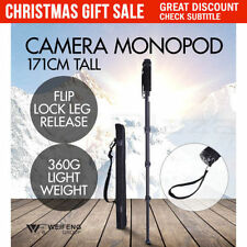 Headless Camera Tripods & Monopods with Quick Release