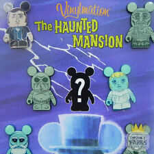 Disney Parks Haunted Mansion Vinylmation Pins Parks Booster Trading Pin Set Pack