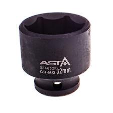 "524632P 32mm 1/2"" Dr Short Impact Socket 6 Point (6PT) Heavy Duty 44mm Length"