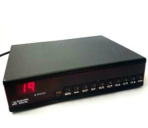 Scientific Atlanta CATV Converter 8602VR 8612S163 Satellite with Power Cable