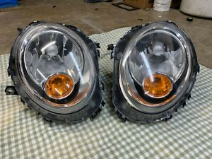 R55 Mini Cooper Headlights Set OEM