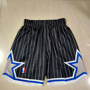 Hot Orlando Magic Men's Black Retro Basketball Shorts Size: S-XXL