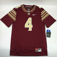 Nike Ncaa Florida State Seminoles #4 Football Jersey Mens Sm or Med New