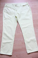 BODEN  yellow ankle skimmer   jeans   size 18L NEW