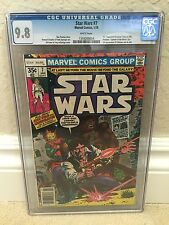 STAR WARS (1977) #7 CGC 9.8 NM/MT 1ST EXPANDED UNIVERSE STORY WHITE PAGES