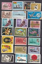 GHANA ^^^^^^x22  older  mostly   MNH  collection  GOOD CAT  @@xdc681ghana