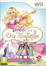 BARBIE EN DE DRIE MUSKETIERS voor Nintendo Wii - compleet - PAL