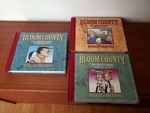 Bloom County - Berkeley Breathed - Complete Library - IDW HC -  Lot Vol. 1 2 3