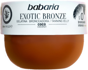 Babaria EXOTIC BRONZE Coconut Tanning Jelly 300ml Bräunungscreme ** TOPSELLER **