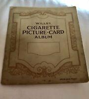 Vintage 1930's Wills UK Cigarettes Cards In Album, Railway Equipment