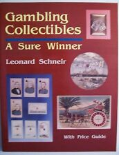 GAMBLING ANTIQUES $$$ id PRICE GUIDE COLLECTORS BOOK