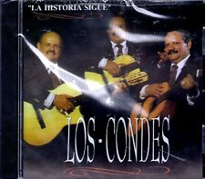 """TRIO LOS CONDES - """"LA HISTORIA SIGUE""""- CD"""