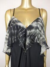 BARDOT DRESS MAXI SKIRT DRESS SUMMER TIE DYE FRILL FESTIVAL 38 6 10