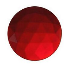 Stained Glass Supplies - JEWEL-15mm ROUND-RED (3470) FREE SHIPPING