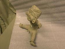 "3278M Erotic Folk Art Statue ""Smiling Boy Child"" Mexico Aztec Mayan Tribal"