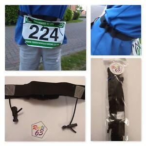 Race Belt with Gel Holders for Running Triathlons Marathons Sports Uk Seller