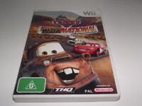 Cars Mater-National Championship Nintendo Wii PAL *No Manual* Wii U Compatible